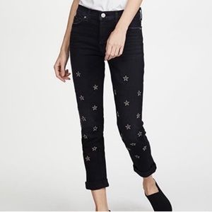 NWT Crop Riley Relaxed Straight Hudson Jeans